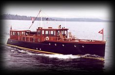 Although her design was similar to the commuter yachts that were used to transport barons of Wall Street between their homes on Long Island ...