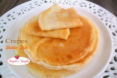 Crepes Ricetta Base Crepes, Griddle Cakes, Crepe Cake, Mille Crepe, Italian Style, Pancakes, Breakfast, Ethnic Recipes, Food