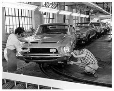 Building Shelby Mustangs.