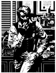 Jim Steranko nació en Reading, Pensilvania, Estados Unidos, el 5 de noviembre de 1938.     Entre sus obras mas destacadas figuran:  Nick Fury, Strange Tales (1967)  Nick Fury, agent of SHIELD (1968)  Captain America (1969)  The Block (1971)  Fantastic Four (1973)  Chandlerd, Red Tide (1976)  Outland (1981)  Superman (1984)