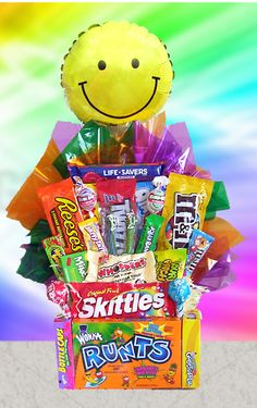 All Candy, Candy Gift Basket