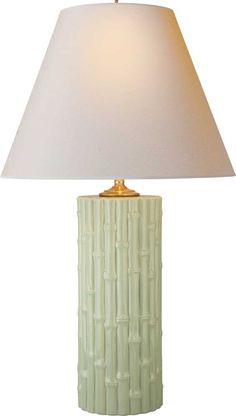 Ralph Lauren Bamboo Lamp * Celadon