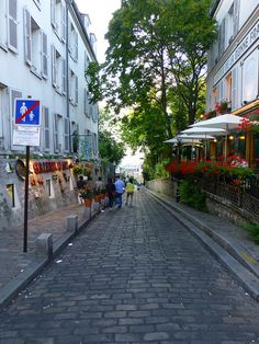 Evening in Montmartre