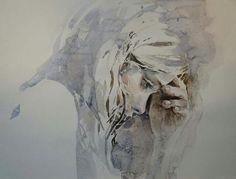 Boyana Petkova Paintings For Sale, Lovers Art, Buy Art, Watercolor, Statue, Artwork, Faces, Colour, Summer