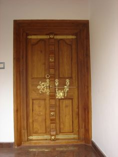 Old door and locks manichithrathazhu doors for French main door designs