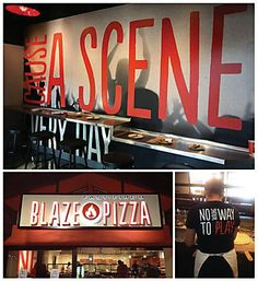 Blaze Pizza #branding by O'Leary and Partners