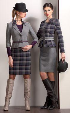 mature ladies in office suits