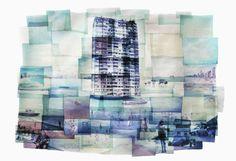 "Rhiannon Adam - ""Dreamlands, Wastelands"" Photomontage, 2013, Assemblage / Collage"