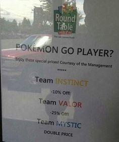Instinct valor or mystic meme Pokemon go