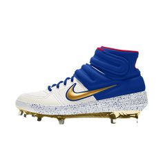 f0de7c00405 Nike Alpha Huarache Elite Mid Premium By You Baseball Cleat Tacos De Béisbol