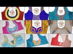 Top 25 Designer Blouse Patterns @ Most Popular Latest Blouse Design Images 2017 Latest Top Designs, New Blouse Designs, Blouse Back Neck Designs, Latest Tops, Churidar Neck Designs, Baby Layette, Designer Blouse Patterns, Beautiful Blouses, Neck Pattern