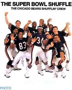 Chicago Bears Super Bowl Shuffle NFL Football Team picture 8x11 photo 01