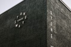 Neon signage for Stone Way Cafe by Shore