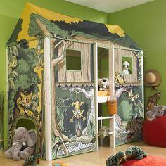 59 beste afbeeldingen van jungle kamer - Muurschilderingen, Apen en ...