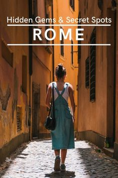 The 10 Best Secret Spots In Rome Sshh! My Life Long Holiday : Rome has so much more to offer than the main sights. If you enjoy getting off the beaten track a bit and exploring hidden gems and secret places then check out these top 10 spots. Italy Travel Tips, Rome Travel, Travel Europe, Hidden Places, Secret Places, Rome Guide, Voyage Rome, Rome Itinerary, Sites Touristiques