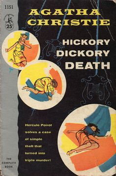 Hickory Dickory Death (1957) by Book Covers: Vintage Paperbacks, Mars Sci-Fi, via Flickr