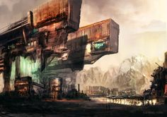 Settlement by ~vladgheneli on deviantART