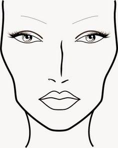 Resultado de imagen de boceto de maquillaje