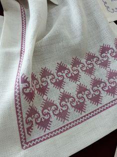 Nakis 2 Cross Stitch Borders, Cross Stitch Patterns, Swedish Embroidery, Palestinian Embroidery, Bargello, Style Inspiration, Blanket, Sewing, Crochet