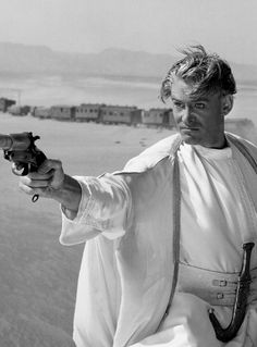 Peter O'Toole in Lawrence of Arabia (1962) - Directed by David Lean