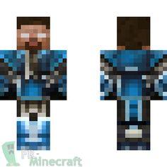 Aperçu de la skin Minecraft Herobrine version roi