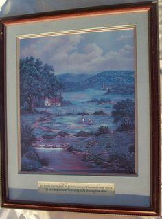 "Lovely Signed Limited Edition Lovita Irby Print ""Her Memories of Texas"" COA"