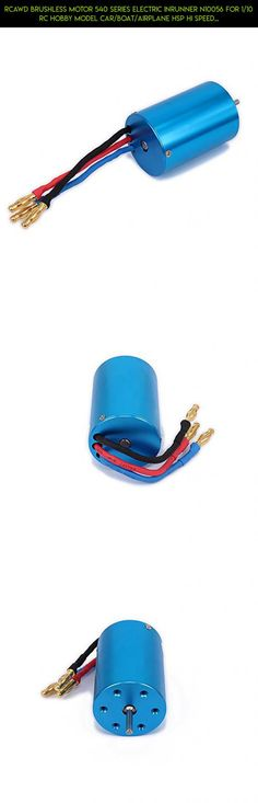 RCAWD Brushless Motor 540 Series Electric Inrunner N10056 for 1/10 RC Hobby Model Car/Boat/Airplane HSP Hi Speed Wltoys Tamiya Truck Buggy Car 1Pcs(Blue) #kit #shopping #racing #tech #boat #camera #drone #gadgets #wltoys #plans #fpv #technology #parts #products #speed