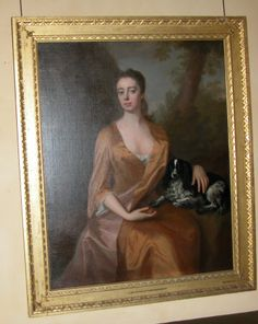 c1720. Called a daughter of William Legge, 1st Earl of Dartmouth so either Lady Barbara Legge, later Lady Bagot (d.1765) or Lady Anne Legge, later Lady Holte (1720-1740) Michael Dahl (Stockholm 1656/9 – London 1743)