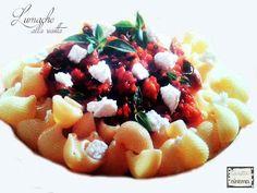 Lumache alla ricotta Un primo piatto con il sapore dell'estate, da gustare in famiglia o fra amici.