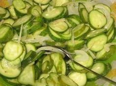 Необычный салат из огурцов | Школа шеф-повара