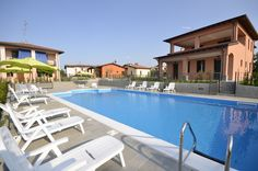 Residence Barcarola Apartments and the swimming pool