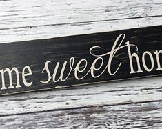 handmade wood signs & home decor by SignsbyJen on Etsy Wood Signs Home Decor, Etsy Seller, Unique Jewelry, Handmade Gifts, Vintage, Kid Craft Gifts, Craft Gifts, Costume Jewelry, Vintage Comics