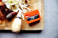 Roasted Parsnip Salad Made Using a Fun Carrot Sharpener