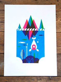 Limited edition prints by Patrick Hruby.