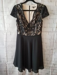 5d86d81b1f11 Extra Off Coupon So Cheap Gianni Bini Black Lace party dress Size 6