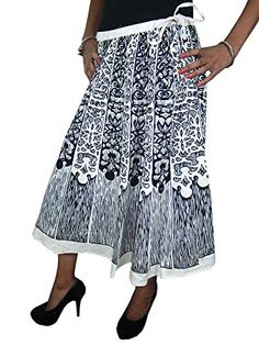 Evening Skirts Black White Cotton Printed Vintage Skirt for Womans Mogul Interior http://www.amazon.com/dp/B00X3G4JFA/ref=cm_sw_r_pi_dp_RRJvvb1K9X5HG