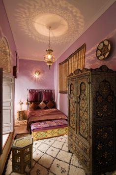 Riad Dar Eliane interior, Morocco