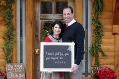 How cute is this? our couples are so creative at the little log wedding chapel in Niagara