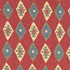 Red #southwest fabric pattern Fabric Patterns, Bohemian Rug, Upholstery, Detail, Rugs, Fabrics, Design, Home Decor, Illustration