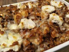 Low Carb Blumenkohl-Bolognese Schichtauflauf - cheesy Low Carb Genuss aus dem Ofen