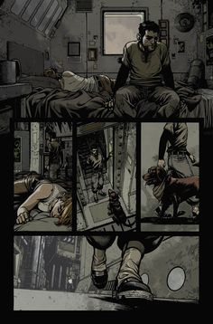 WIld Blue Yonder issue 4 page 10, Lines by Zach Howard, Color by Nelson Daniel