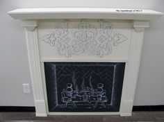 The HumbleNest of Mrs. V: DIY Faux Fireplace.  I have been thinking of doing this in my new my apt. But I will use candles behind the fireplace screen rather than draw a fire on blackboard chalk. Also, I think I will put tiles on plywood and lay that on the floor to mimic real tile for a fireplace. This would make an amazing center-piece for the living room in a generic apt.
