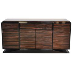 Art Deco Style Macassar Sideboard | From a unique collection of antique and modern sideboards