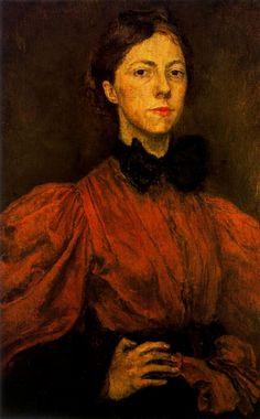 GWEN JOHN, SELF PORTRAIT, 1899