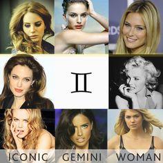 Gemini women, cute, pretty, sexy, Marilyn Monroe, Nicole Kidman, Lana Del Rey, Angelina Jolie, Bar Rafaeli, Adriana Lima, Heidi Klum, Natalie Portman