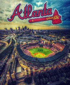 attend an Atlanta Braves game in Atlanta, Georgia Braves Game, Braves Baseball, Baseball Players, Baseball Games, Baseball Stuff, Atlanta Georgia, Atlanta Braves, Atlanta Baseball, Turner Field