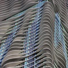 Aqua Tower, Chicago, Zoltan Farago on Flickr