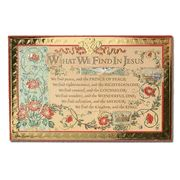 What We Find in Jesus Christmas Cards, Box of 18