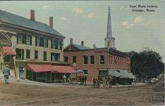 Orange.East Main street.