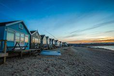 Fondo de Pantalla de Cabañas, Chozas, Playa, Costa, Mar, Arena, Inglaterra